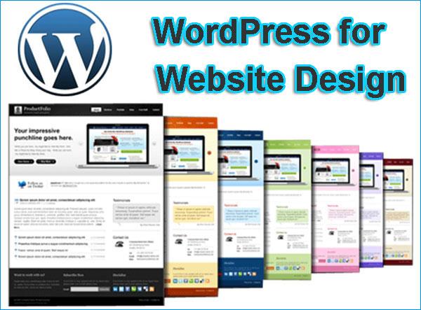 wordpress-for-website-design