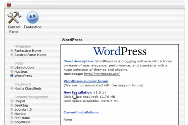 wordpress-new-install